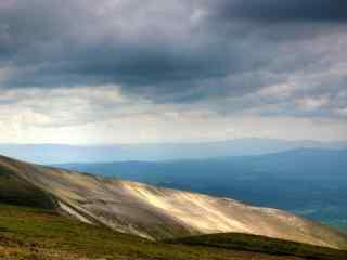 长白山眺望风景摄影壁纸图片下载