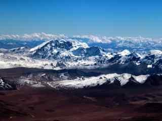 壮观的珠穆朗玛峰风景壁纸图片下载