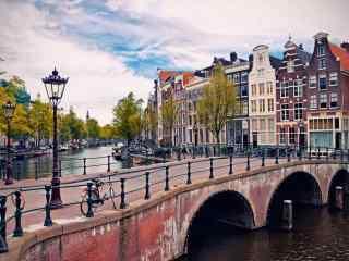 欧洲风情唯美城市