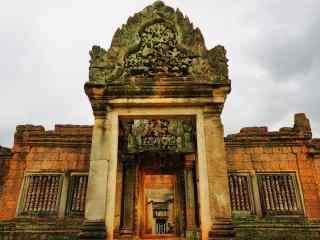 吴哥古老建筑图片
