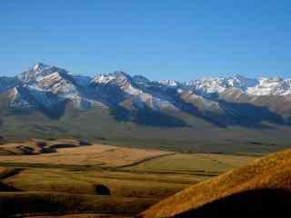 壮丽的天山自然风景图片桌面壁纸