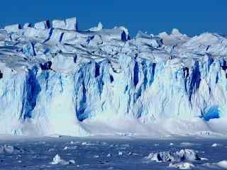 壮丽的北极冰川风景图片壁纸
