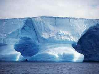 绮丽的北极冰川风景图片桌面壁纸