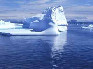 好看的北极冰川图片壁纸