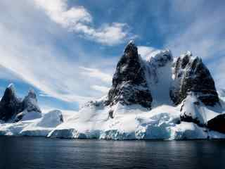 北极冰山图片桌面壁纸