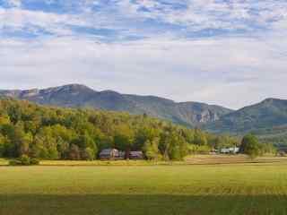 佛蒙特州农场风景图片桌面壁纸
