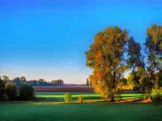 风景唯美的农场图片桌面壁纸