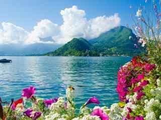 唯美蔚蓝天空美丽