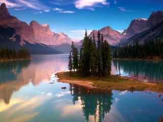 高清绝美湖泊风景