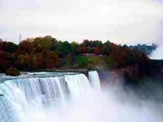 壮观的尼亚加拉瀑