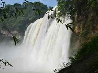 黄果树大瀑布风景图片高清壁纸