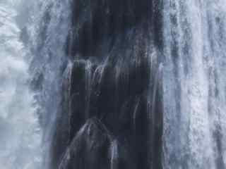 黄果树瀑布近景摄影图片