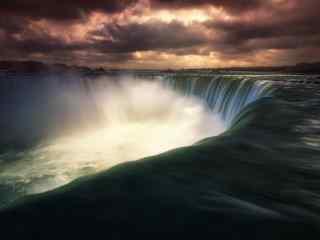 尼亚加拉大瀑布风景图片