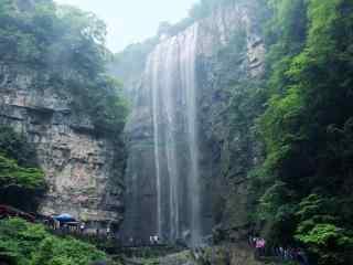 三峡大瀑布风景图片桌面壁纸