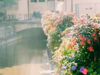 法国安纳西小镇花