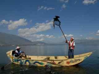 大理洱海唯美人文风景图片高清桌面壁纸