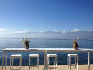 洱海简约唯美风景图片高清桌面壁纸