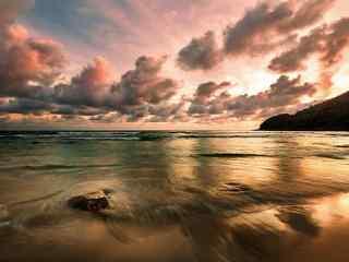 普吉岛特色夕阳美丽风景图片高清桌面壁纸