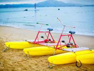 鼓浪屿海滩可爱脚