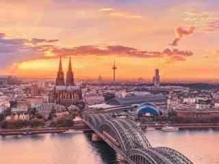 唯美德国柏林夕阳