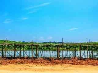 小清新田园风景图片高清桌面壁纸