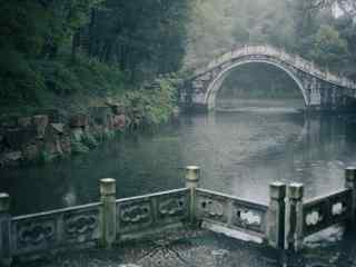 江南烟雨小桥流水