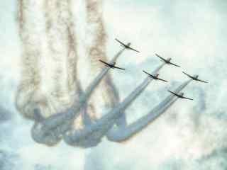 飞机航空展出表演