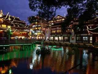 上海:城隍庙景区夜景图片