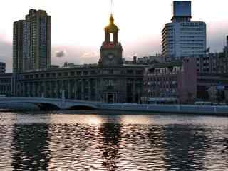 上海:魅力苏州河唯美风景图片