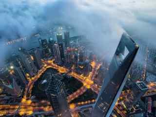 上海:耸入云端的环球金融中心图片