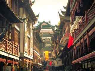 上海:城隍庙特色风景图片