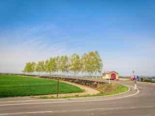 小清新田园风景图片