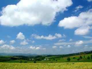 小清新田园风景护眼壁纸