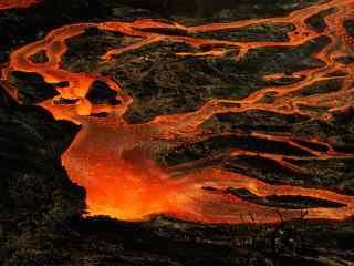 留尼汪岛火山风景图片