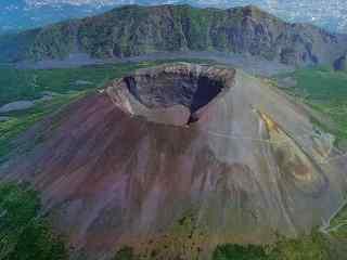 维苏威火山风景图片