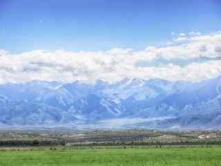唯美壮阔的高原图