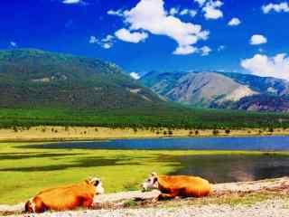 贝加尔湖秀美风景图片高清桌面壁纸