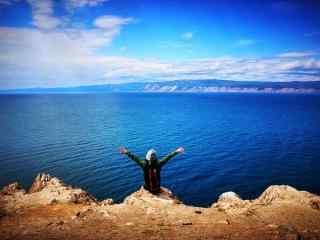 贝加尔湖秀美山水风景图片桌面壁纸