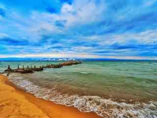 贝加尔湖畔夏季风景图片高清桌面壁纸