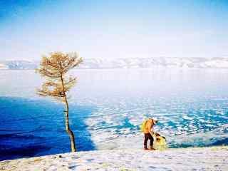 贝加尔湖特色风景图片护眼壁纸