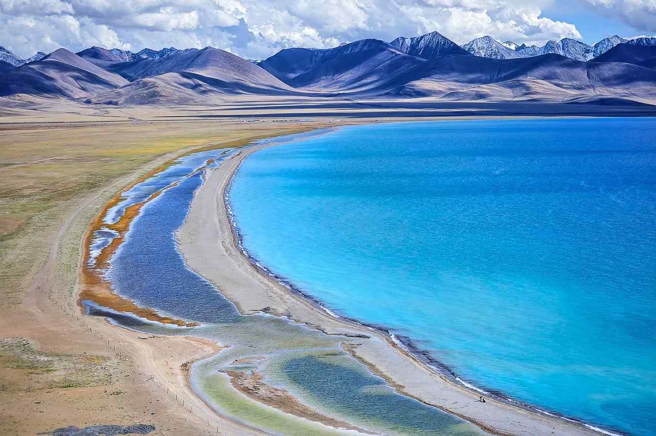 西藏纳木错圣湖唯美风景图片高清桌面壁纸