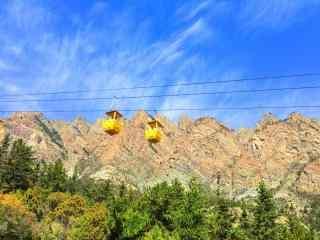 小清新贺兰山脉风景图片