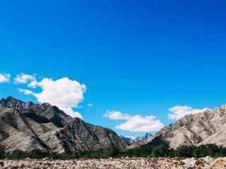 秀美贺兰山脉风光图片