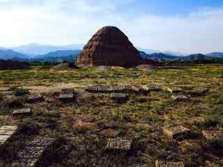 西夏王陵遗址特色景观图片