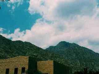 贺兰山特色风景摄影图片