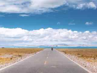 唯美纳木错风景特色高原湖泊图片桌面壁纸