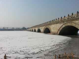 中国四大名桥之卢沟桥风景图片