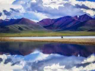 绝美的纳木错湖独特风景图片
