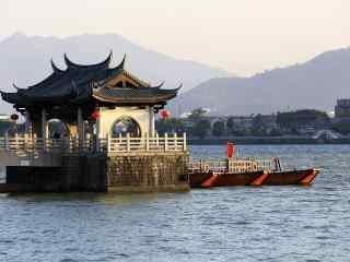 潮州广济桥唯美风景图片