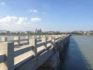 泉州洛阳桥风景图片